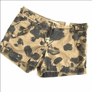 J.Crew classic twill chino shorts in floral camo